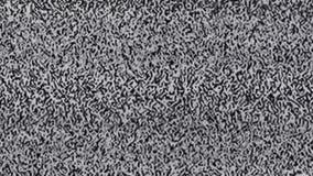 Ruido estático de la televisión, negro, blanco metrajes