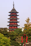 Ruigang Pagoda Suzhou China Stock Image