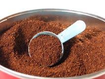 Ruik de koffie Stock Afbeelding