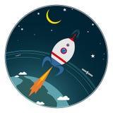 ruimte Stock Illustratie
