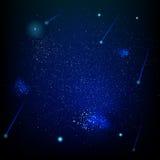 Ruimte abstract stergebied Eps 10 Royalty-vrije Stock Afbeelding