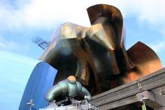Ruimte het centrumarchitectuur van Seattle. Royalty-vrije Stock Foto
