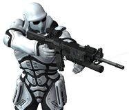 Ruimte mariene militair. warhammer vector illustratie