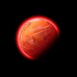 Ruimte planeet royalty-vrije illustratie