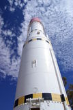 Ruimte Raket royalty-vrije stock foto