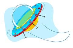 Ruimte Schip vector illustratie
