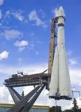 Ruimte schip van Yuriy Gagarin Stock Fotografie
