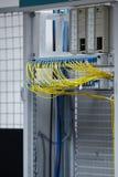 Ruimte van de netwerk de moderne server Stock Afbeeldingen