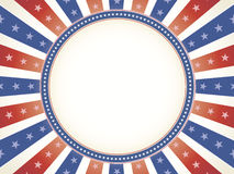 Ruimte van het de kleuren de rode witte blauwe exemplaar van Vinage stock illustratie