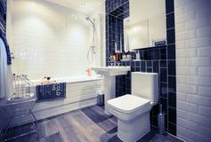 Ruimte van huis de modieuze WC Royalty-vrije Stock Fotografie