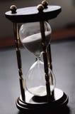Ruimte van tijd, zandloper royalty-vrije stock afbeelding