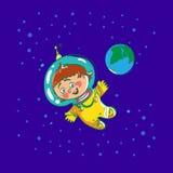 Ruimtekindbeeldverhaal stock illustratie
