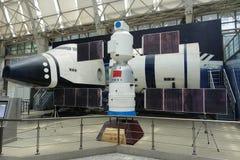 Ruimtemodel in de wetenschap en de Technologiemuseum van Sichuan Royalty-vrije Stock Foto