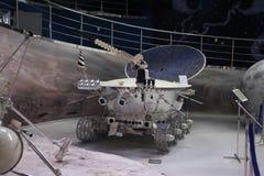 Ruimtemuseum VVC Moskou, Rusland Stock Foto's