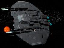ruimteschip Stock Afbeeldingen