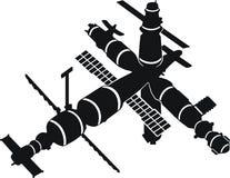 Ruimtestation Mir vector illustratie