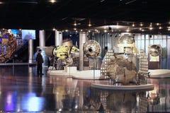 Ruimtesubjugators-Museum VVC. Moskou, Rusland royalty-vrije stock foto