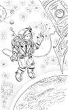 ruimtevaarder Royalty-vrije Stock Fotografie