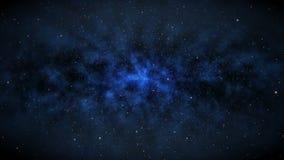 Ruimtevaart Achtergrondlijnanimatie vector illustratie
