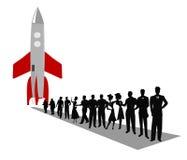 Ruimtevaartconcept Royalty-vrije Stock Afbeelding