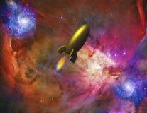 ruimtevaartuig stock illustratie