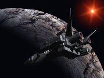 Ruimtevaartuig vector illustratie