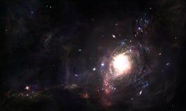 Ruimtewormhole Stock Afbeeldingen
