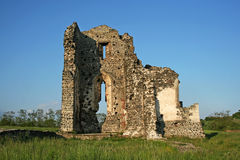 Ruin. Old and ancient abbey ruin royalty free stock photo
