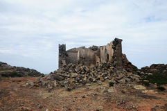 Ruin. S of an old house in the mountains of Sicily Stock Photography