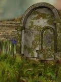 Ruin stock illustration