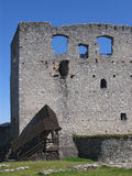 Ruin. The castle Rabi enacted in the Czech history, culture and art Stock Photography