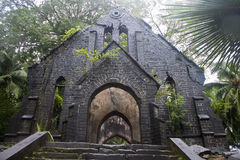 Ruin of abandoned church Royalty Free Stock Photo