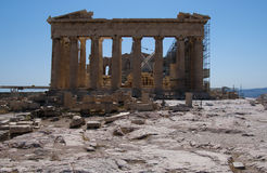 Ruin of the acropolis Royalty Free Stock Photo