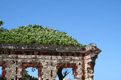 Ruin at Aguadilla Puerto Rico Stock Photography