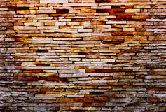 Ruin & ancient brick wall texture background.Stock photo. Stock Images