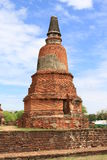 Ruin ancient landmark of thailand. Ruin ancient buddha landmark of thailand Stock Image