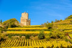 Free Ruin And Tower At Chateau De Kaysersberg -  Watchtower At Village In Alsace - France Royalty Free Stock Photos - 143981368