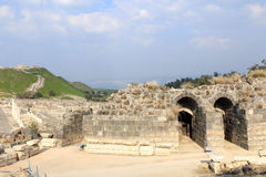Ruin of Beit Shean Royalty Free Stock Image