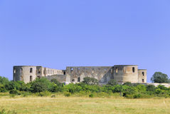 The Ruin at Borgholm Stock Photos