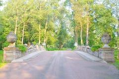 Ruin Bridge in Alexandra Park. Stock Image
