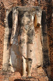 Ruin buddha statue. The ruin buddha statue which is a UNESCO World Heritage Site in Wat Chetuphon, Sukhothai, Thailand Royalty Free Stock Image