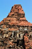 Ruin buddha statue in Sukhothai Stock Photography