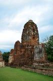 The Ruin of Buddha status Royalty Free Stock Photos