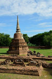 Ruin of buddhist temple Royalty Free Stock Photo