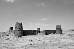 Ruin of caravanserai Stock Photos