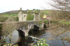 Carrigadrohid castle county cork ireland Royalty Free Stock Images