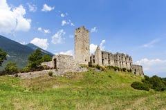 Ruin Castel Belfort in Italy Royalty Free Stock Photos