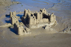 Ruin of a castle Stock Photo