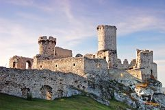 Ruin castle Royalty Free Stock Image