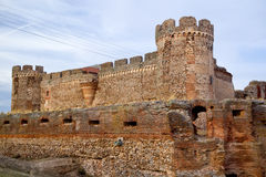 Ruin of castle in Avila Stock Images